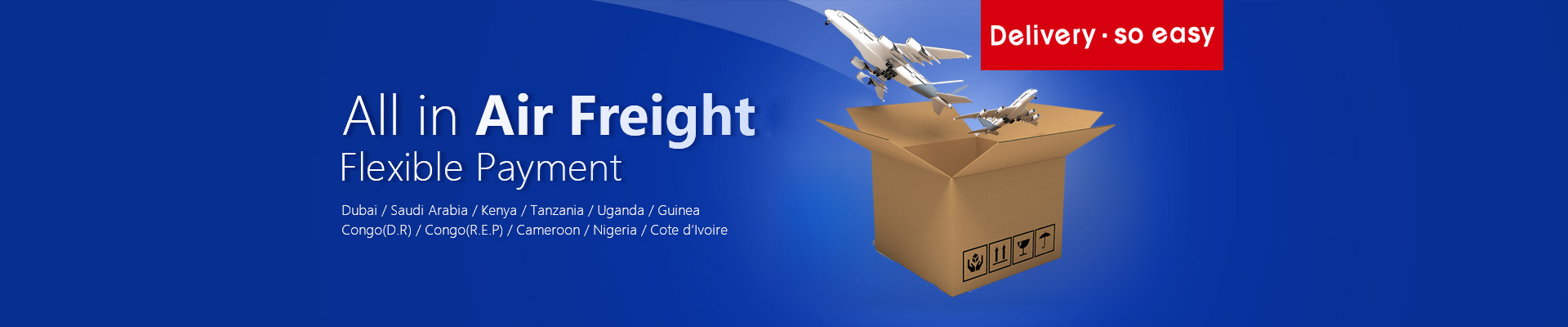 Africa Air Freight | Middle East Air Freight | CHOICE Air